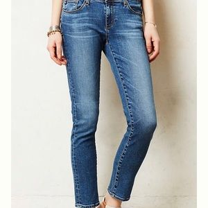 AG Stevie Ankle Slim Straight Size 29 Jeans